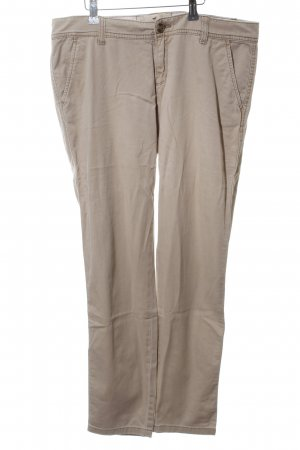 Hollister Stoffhose wollweiß Casual-Look