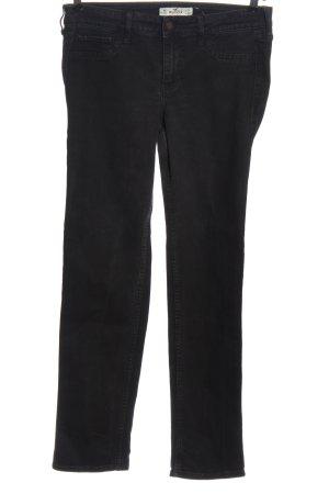 Hollister Jeansy z prostymi nogawkami czarny W stylu casual
