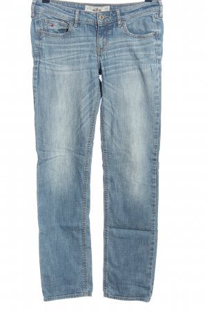Hollister Straight-Leg Jeans blau Casual-Look
