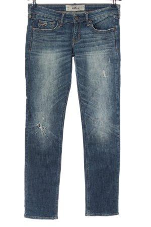 Hollister Jeansy z prostymi nogawkami niebieski W stylu casual