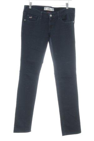 Hollister Jeansy z prostymi nogawkami ciemnoniebieski Prosty styl