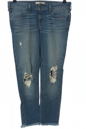 Hollister Straight-Leg Jeans blau Casual-Look