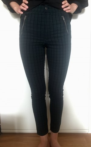 Hollister High Waist Trousers multicolored viscose