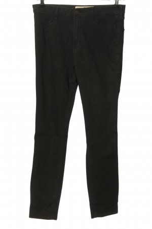 Hollister Stretch Jeans schwarz Casual-Look