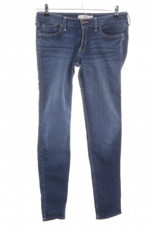 Hollister Stretch Jeans blau Casual-Look