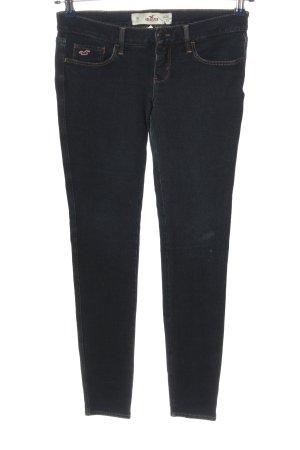 Hollister Stretch Jeans blau Casual-Look