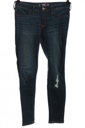 Hollister Stretch jeans blauw casual uitstraling