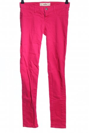 Hollister Stretchhose pink Casual-Look
