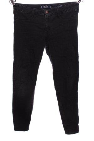 Hollister Stretchhose schwarz Casual-Look