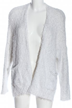 Hollister Strick Cardigan weiß Casual-Look