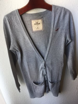 Hollister Strickjacke grau