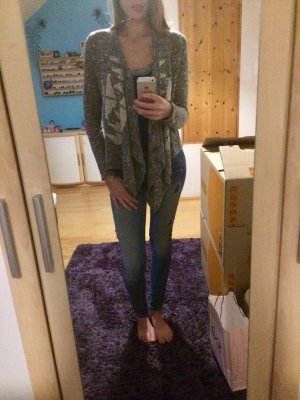Hollister Strickjacke mit Muster