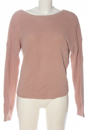 Hollister Jersey de punto rosa look casual
