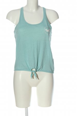 Hollister Knitted Jumper turquoise casual look