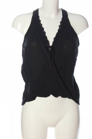 Hollister Knitted Top black casual look