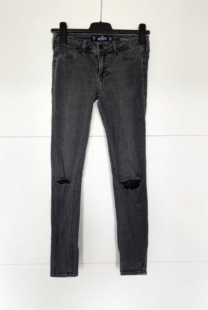 Hollister Jeans skinny grigio