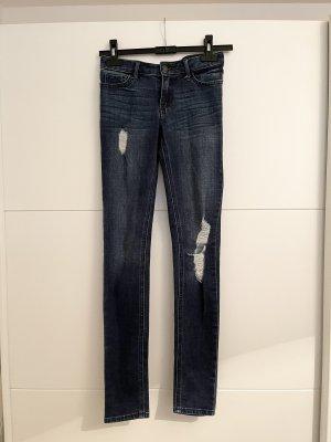Hollister Skinny Jeans blue-dark blue