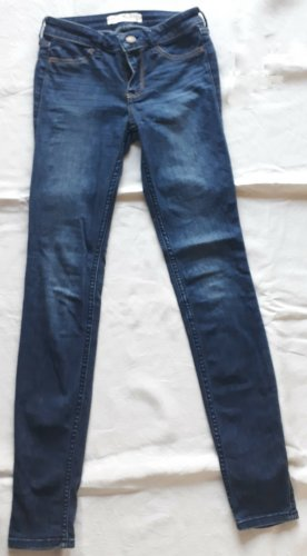 Hollister Super Skinny Jeans dunkelblau