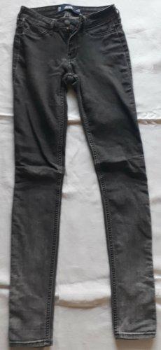 Hollister Super Skinny Jeans schwarz