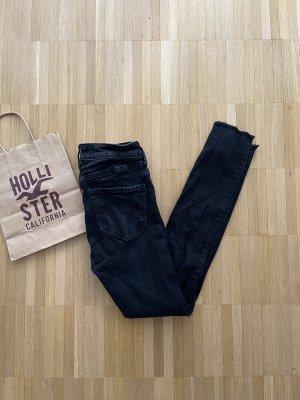 Hollister Jeans cigarette noir