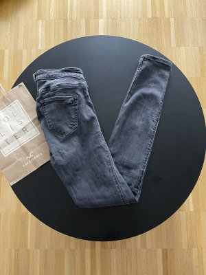 Hollister Jeans cigarette gris