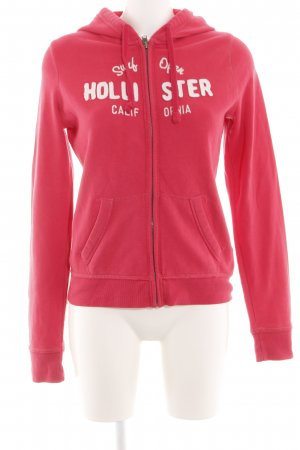 Hollister Sweatjacke rot Casual-Look
