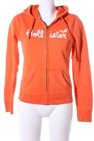 Hollister Giacca fitness arancione chiaro stile casual