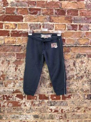 HOLLISTER Sweatpants 3/tel Sporthose Jogginghose Capri Sport Shorts XXS XS 32-34