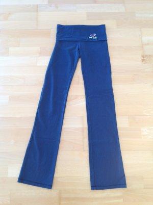 Hollister Sweatpants in Größe XS in der Farbe blau