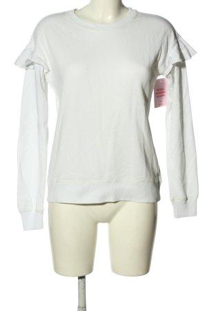 Hollister Sweatshirt weiß Casual-Look