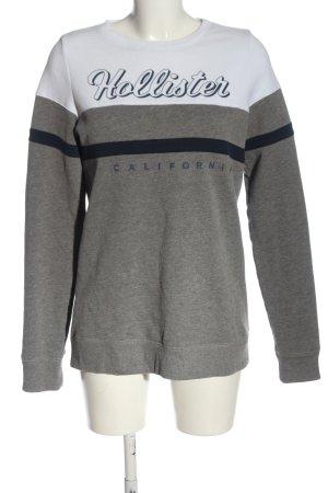Hollister Sweatshirt meliert Casual-Look
