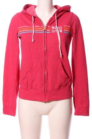 Hollister Sweatshirt pink meliert Casual-Look