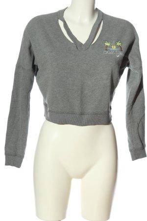 Hollister Sweatshirt hellgrau Casual-Look