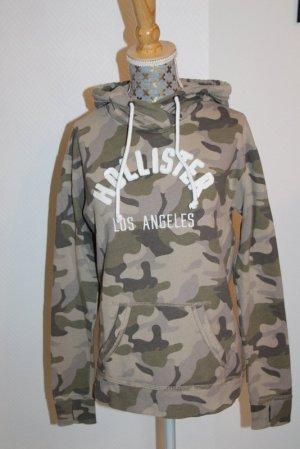 Hollister Sweatshirt Hoodie camouflage Gr. XS