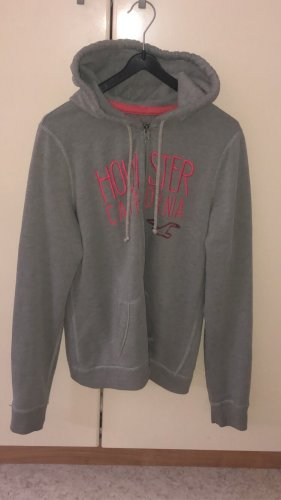 Hollister Shirt Jacket silver-colored