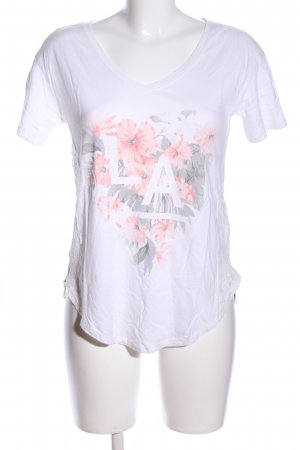 Hollister T-Shirt Motivdruck Casual-Look