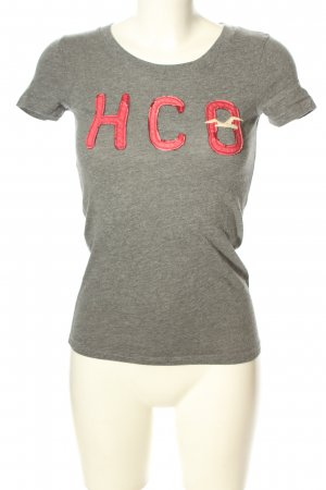 Hollister T-Shirt meliert Casual-Look