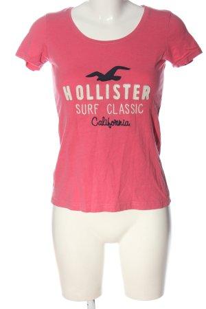 Hollister T-shirt Wydrukowane logo W stylu casual