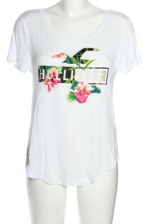 Hollister T-Shirt Motivdruck Casual-Look