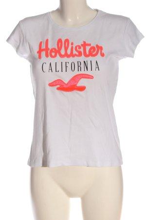Hollister T-Shirt mehrfarbig Casual-Look