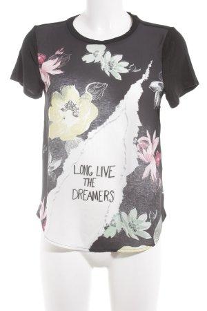 Hollister T-Shirt Blumenmuster Casual-Look