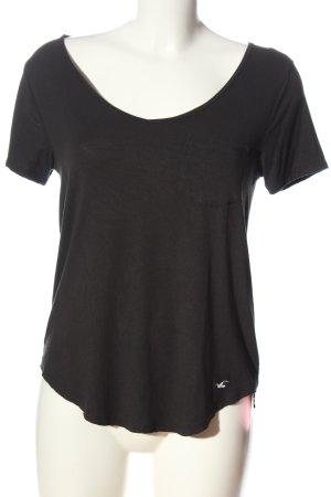 Hollister T-Shirt schwarz Casual-Look
