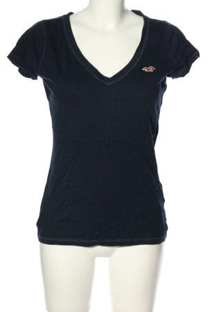Hollister T-Shirt blau Casual-Look