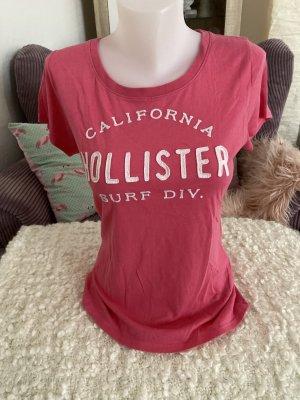 Hollister T-Shirt Gr M Pink