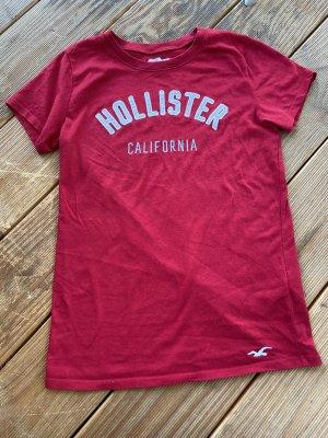 Hollister T-Shirt Gr.S rot