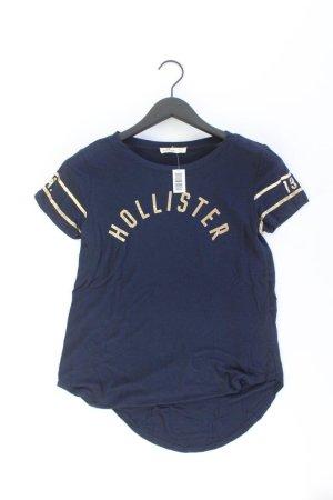 Hollister T-Shirt Größe XS Kurzarm blau
