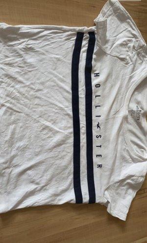 Hollister T-shirt court blanc
