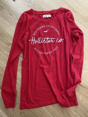Hollister T Shirt rot langärmelig