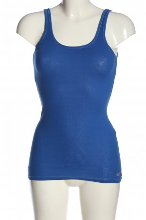 Hollister Tanktop blau Casual-Look