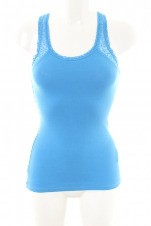 Hollister Tanktop blau Casual-Look